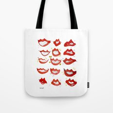 KISSUS - MOUTHS Tote Bag