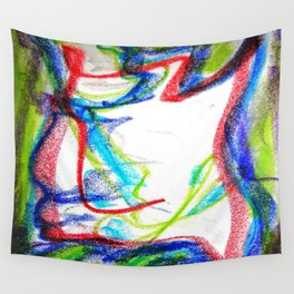 Une heure  feux 1999 Wall Tapestry