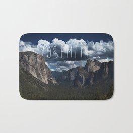 Yosemite National Park El Capitan Bath Mat