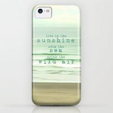 live in the sunshine Slim Case iPhone 5c