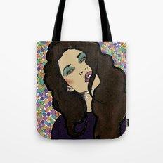 Dotty Girl Tote Bag