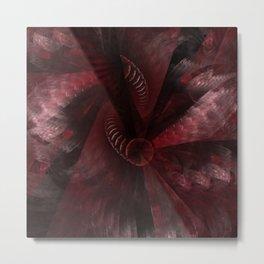 fractal: anger Metal Print