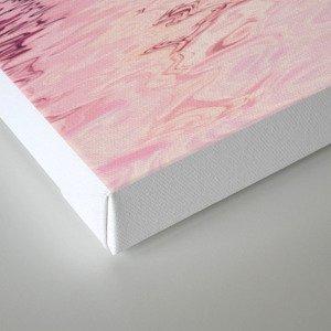 Romantic chrysanthemum flower soft pink pastel Canvas Print