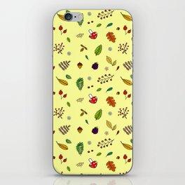 Autumnal Pattern iPhone Skin