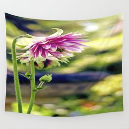 Aquilegia Wall Tapestry