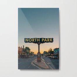 North Park 02 Metal Print