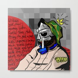 The Super Villain Metal Print