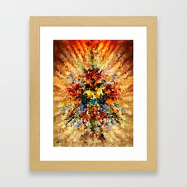 modern composition 10 by rafi talby Framed Art Print