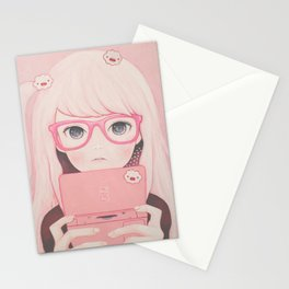 「Gamegirl Girl」  Stationery Cards