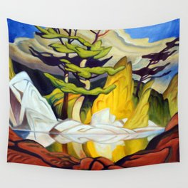 Red Rock Pool by Amanda Martinson Wall Tapestry