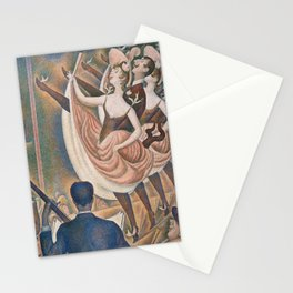 Le Chahut by Georges Seurat, 1889 Stationery Cards