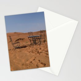 Desert morning Stationery Cards