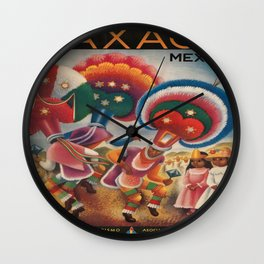 Vintage poster - Mexico Wall Clock