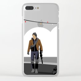 The Division Agent Clear iPhone Case
