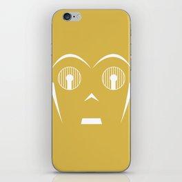 Star Wars Minimal 1 iPhone Skin