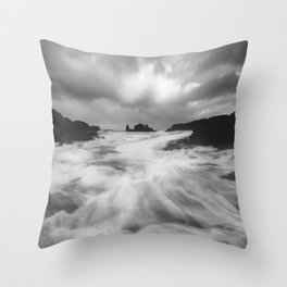 Stormy Morning Throw Pillow
