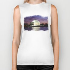 Jefferson Sunset Biker Tank