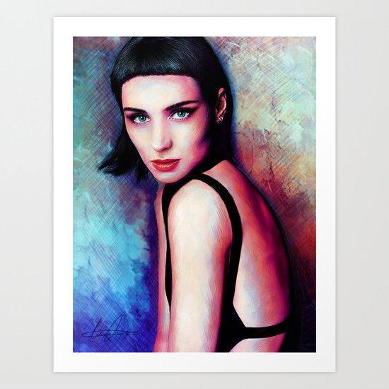 Rooney Mara Art Print