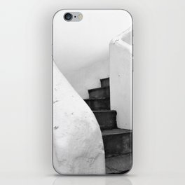 Black and White Stairs iPhone Skin