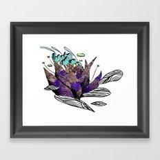 explore (thorns) Framed Art Print