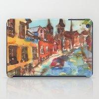 denmark iPad Cases featuring Roskilde, Denmark by Yevgenia Watts