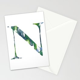 Letterforms N : Noah Stationery Cards