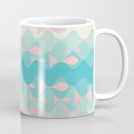 on the wave Coffee Mug