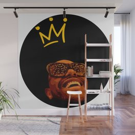 Heartless Starboy vector illustration Wall Mural