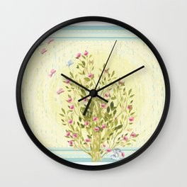 Just One By Lisa Callear Wall Clock