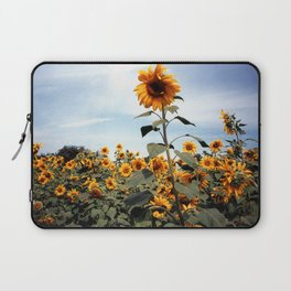 Sunflower Photograph Laptop Sleeve