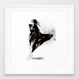 Ebony Framed Art Print