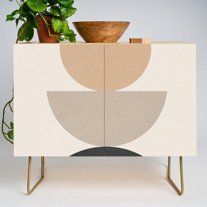 Geometric Modern Art 31 Credenza