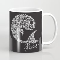 pisces Mugs featuring pisces by freebornline