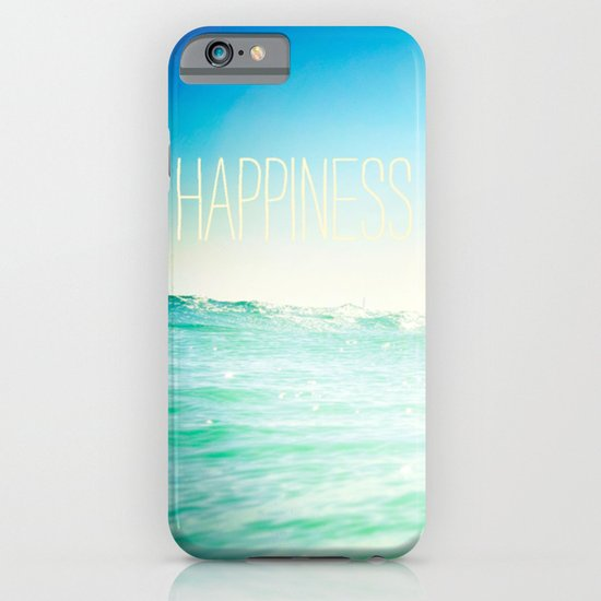 beachy happiness iPhone & iPod Case