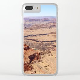 Awesome Grand Canyon View Clear iPhone Case