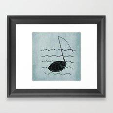 Catch a tune Framed Art Print