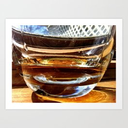 Whiskey Your the Divil Art Print