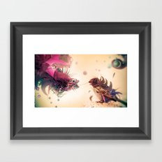 The Pathogen Framed Art Print