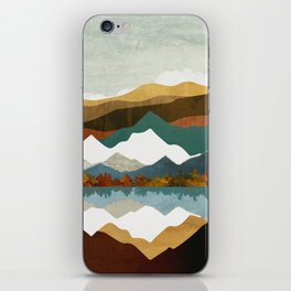 Winter Lake iPhone Skin