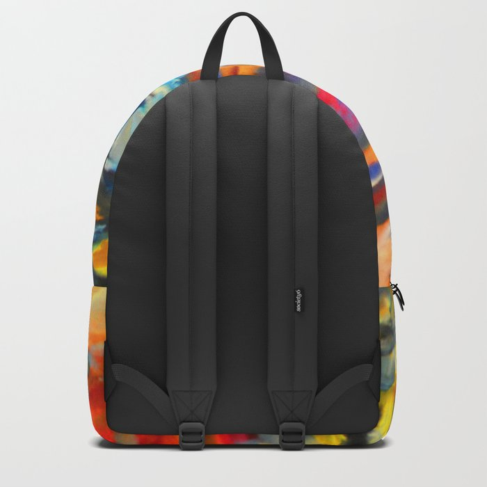 My Village | Colorful Small Mountainy Village Backpack