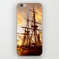 pirate ship iPhone & iPod Skins featuring PIRATE SHIP :) by Teresa Chipperfield Studios