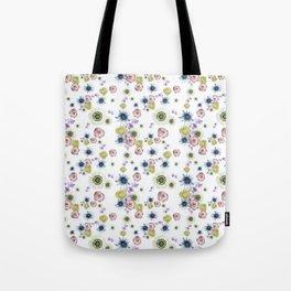 Florence White Tote Bag