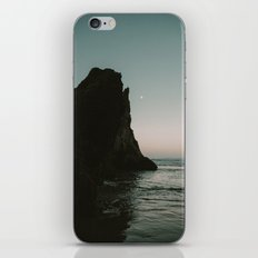 Oregon Coast Dark Ocean iPhone & iPod Skin