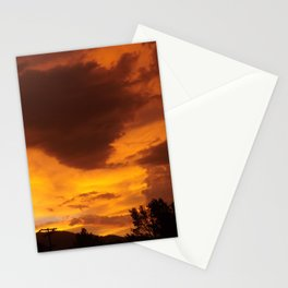 The Colors Of Sunset Stationery Cards