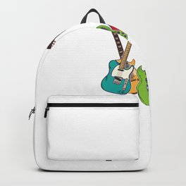 You Can Never Have Too Many Guitars Country Music For Blues Backpack