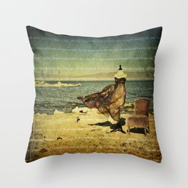 Annabel Lee Throw Pillow