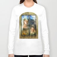 window Long Sleeve T-shirts featuring Window by Iris V.