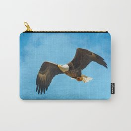 Early Spring Flight - Bald Eagle Carry-All Pouch