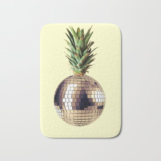 ananas party (pineapple) Bath Mat