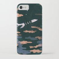 airplanes iPhone & iPod Cases featuring Airplane Angst by Victoria Borges